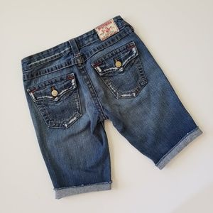 True Religion Distressed Bermuda Shorts Stlye #503
